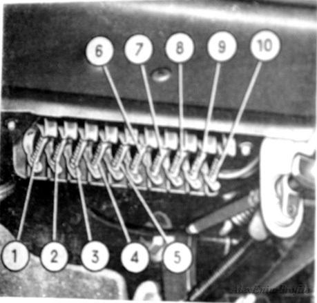 электрическая схема ваз 2103